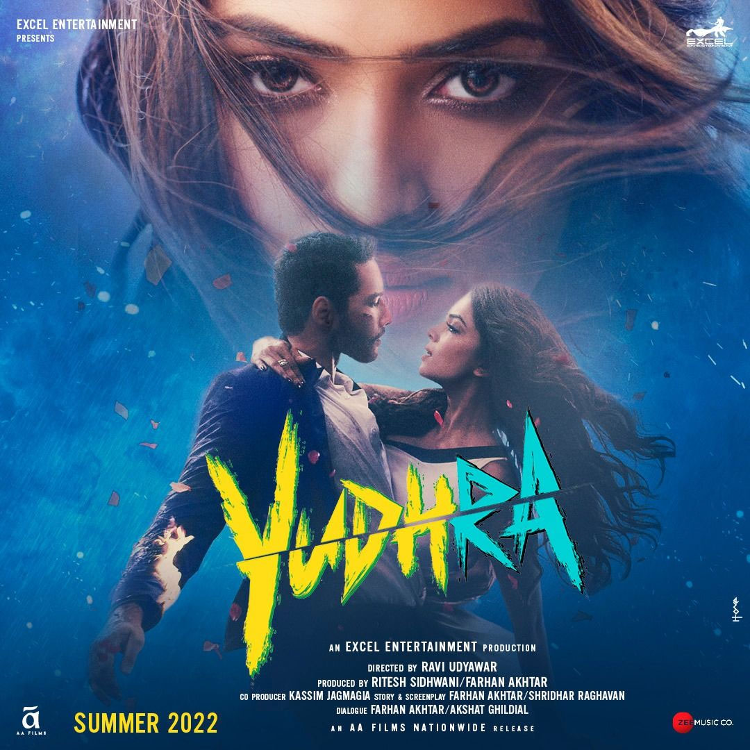 Yudhra First Look Poster
